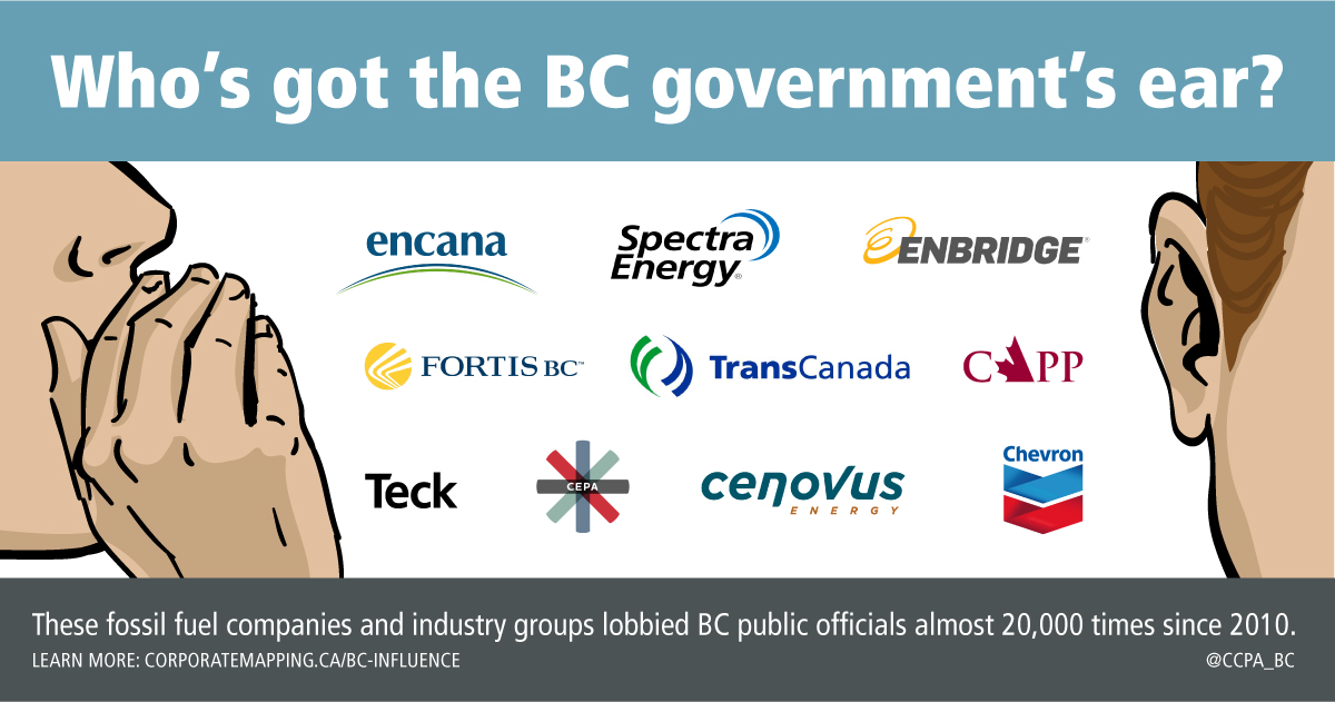 5 2 million reasons the fossil fuel industry has the BC government's