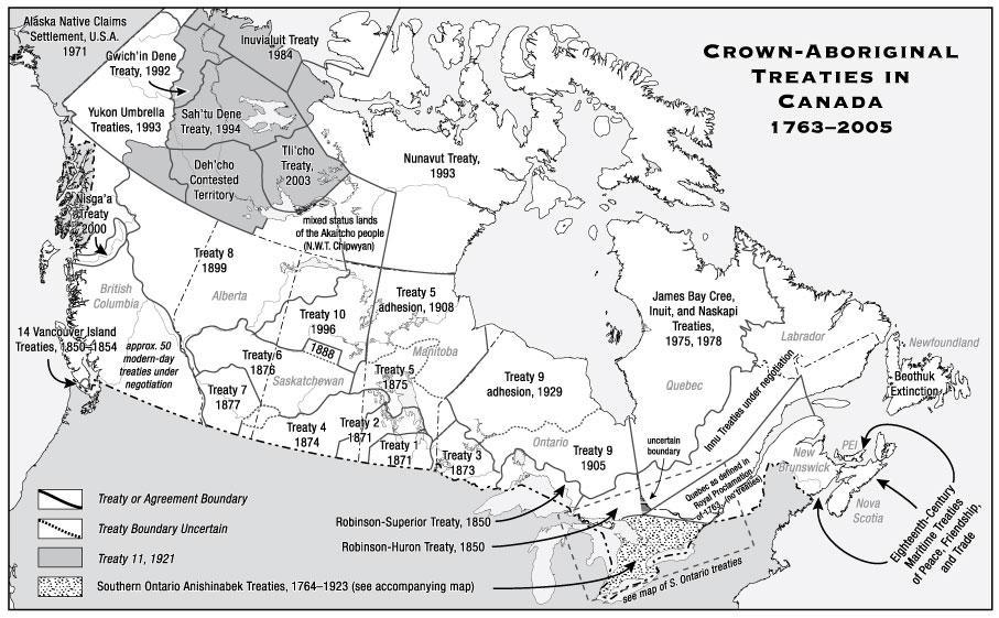 Treaties in Canada