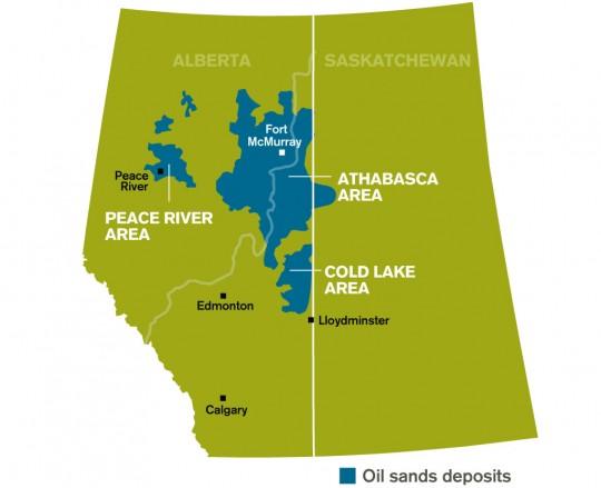Alberta's oil sands region