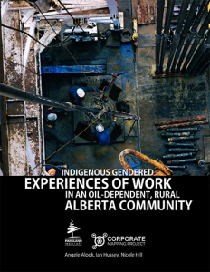Indigenous Gendered Experiences of Work in an Oil-Dependent, Rural Alberta Community