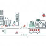 Renewable Regina city illustration